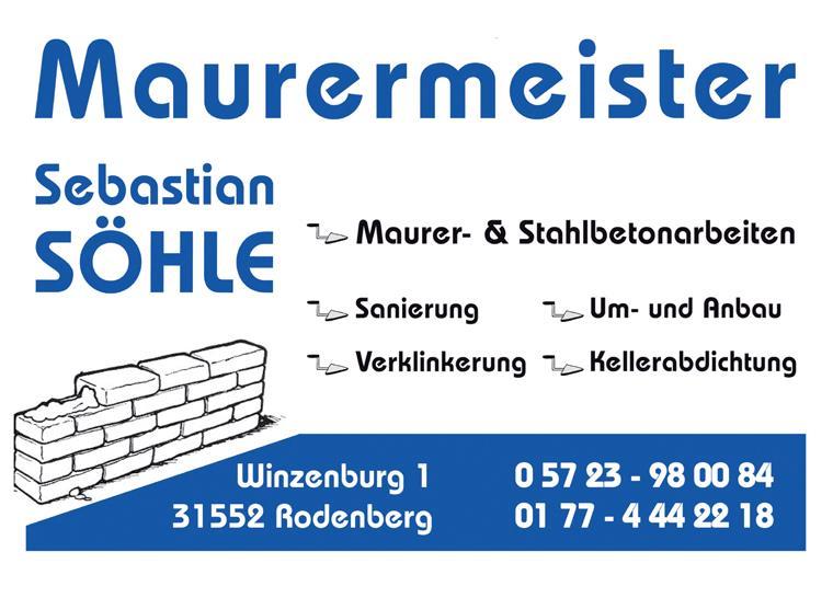 Maurermeister Söhle